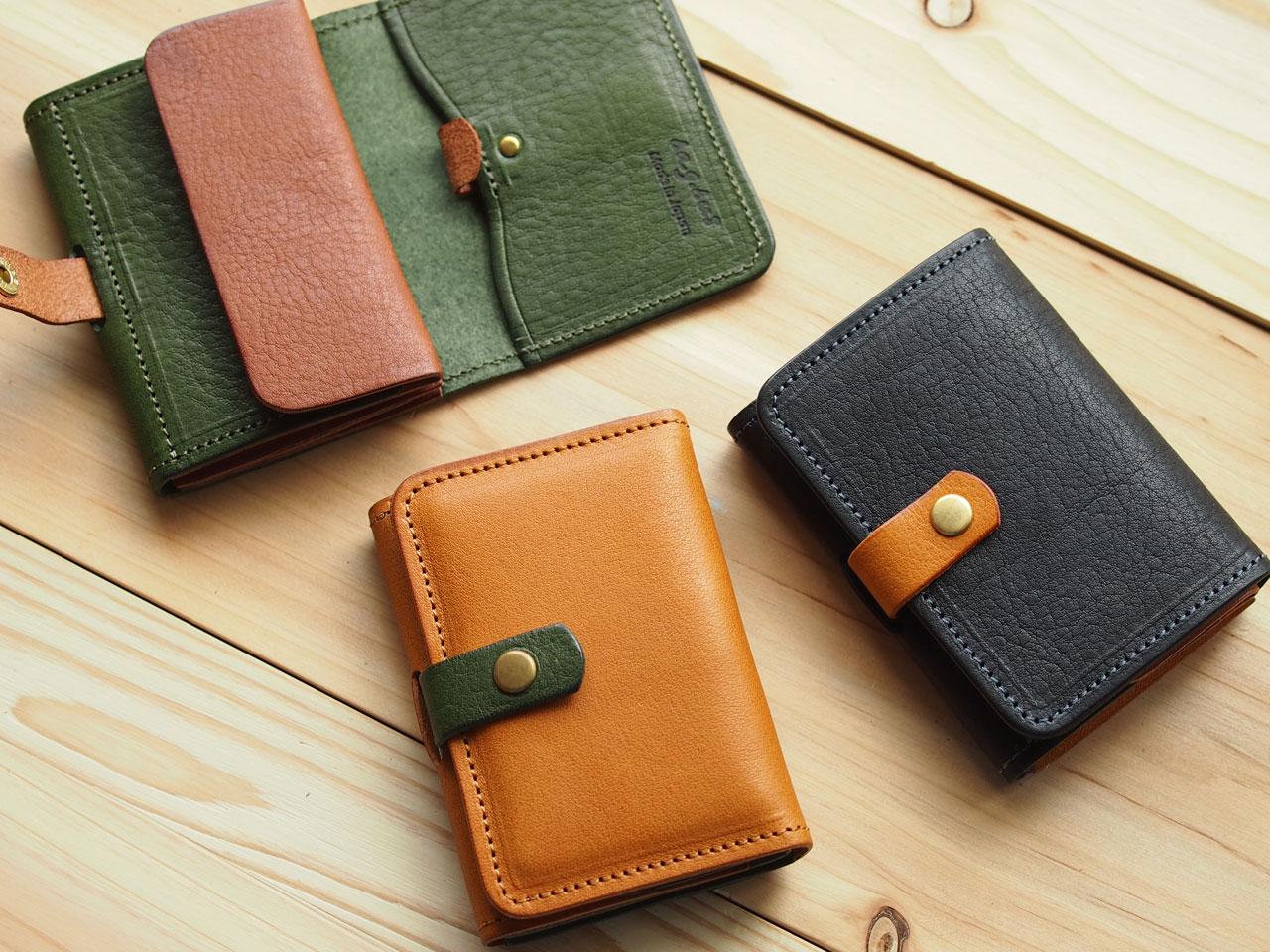 ミニ財布ブラック